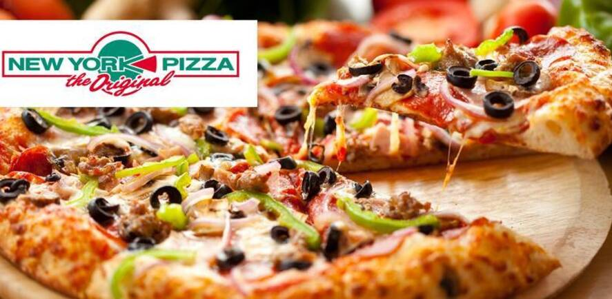 Gratis 2e pizza bij New York Pizza